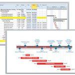 Gantt chart template by Office Timeline