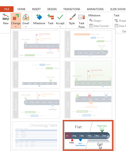Free project management tools for PowerPoint