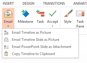 Share Project Plans with Office Timeline
