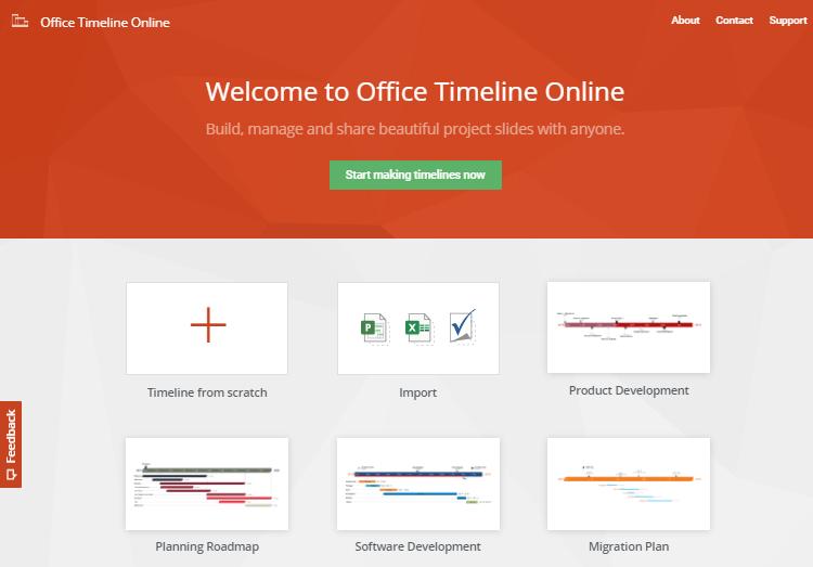 Free online Gantt chart maker